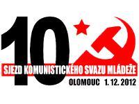<!--:cs-->Tisková zpráva 10. sjezdu Komunistického svazu mládeže<!--:-->