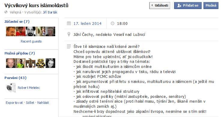 Výcvikový kemp islamoklastů - hra nebo můžeme očekávat vraždy nevinných žen i v České republice?