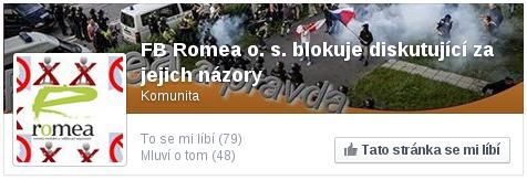 FB Romea o. s. blokuje diskutující za jejich názory
