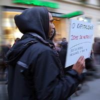 Protest proti sociálním nespravedlnostem