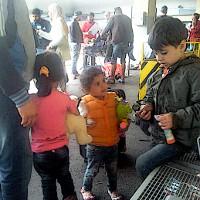Tisíce migrantů dorazily do Rakouska