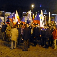 Národní demokracie uctila české národní hrdiny a postěžovala si na uprchlíky
