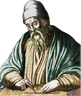 Eukleides (na obrázku) byl pro muslimského matematika natolik inspirující, že po něm al-Uqlidisi převzal jméno.