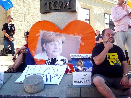 Srdce pro Merkel
