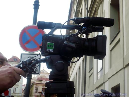 Kamera Měšťana s podporou ruské televize RT