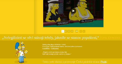 Printscreen ze SledujiSerialy.cz