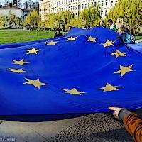 Zápisky z pražských projevů Pochodu za Evropu