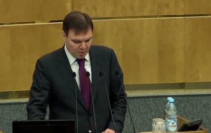 Leonid Levin, předseda parlamentního výboru pro informační politiku