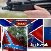 Profil Jiřího Nováka píše separatistické zpravodajství z okupovaných území na Ukrajině