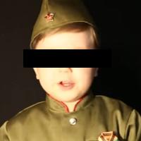 Čtyřletý Arslan: Chci se stát Putinem