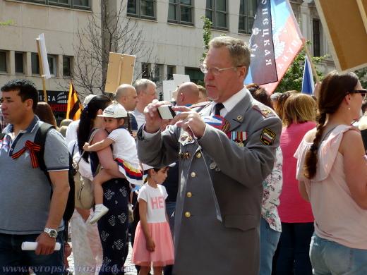 Muž v uniformě příslušníka Ministerstva vnitra Ruské federace.