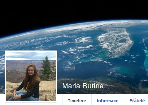 Maria Butina - FB profil