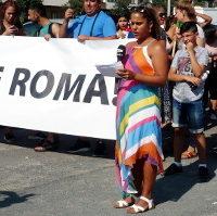 Protestní pochod: Stop pogromům na Ukrajině, stop rasismu