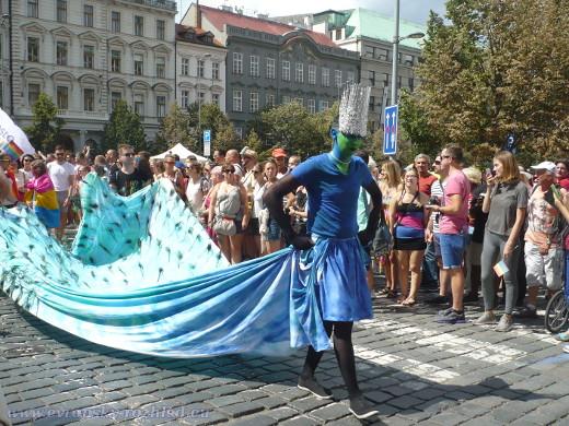 Nápaditost karnevalových masek byla na vysoké úrovni.