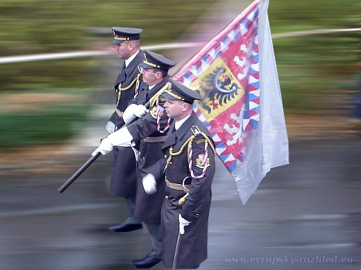 U památníku na Vítkově se konalo pietní shromáždění ke 100. výročí od vzniku Československa.