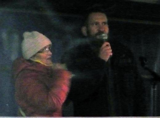 Arthur Österle s Janou Yngland Hruškovou.
