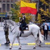 Sté výročí vzniku Československa: Vojenská přehlídka na Evropské třídě