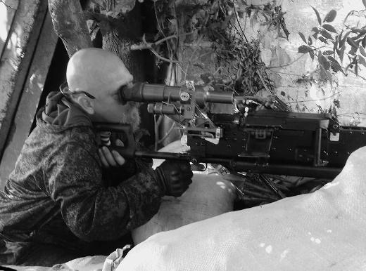 Mário Reitman sloužil na Donbase jako odstřelovač, komunisté jej považují za hrdinu.