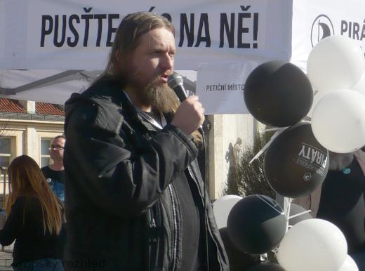 Alexandr Isavnin z Ruské pirátské strany