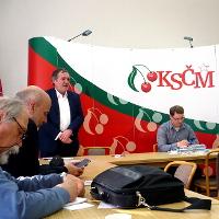 V Ústředním výboru KSČM proběhla beseda s levicovými kandidáty do eurovoleb
