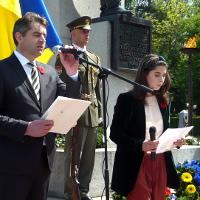 Velvyslanectví Ukrajiny uctilo na Olšanských hřbitovech památku všech vítězů nad nacismem