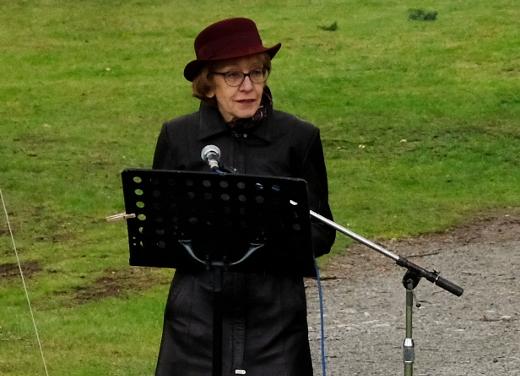 Poslankyně Helena Válková se ke dni matek vyjádřila k utrpení matek, jejichž děti v koncentračním táboře zahynuly. Foto: Jan Macháček
