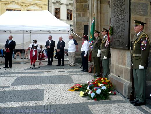 Pietní shromáždění k uctění památky 27 popravených představitelů stavovského odboje