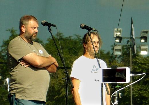 Daniel Pitek a Jan Piňos
