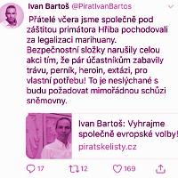 Ivan Bartoš nastavuje mantinely lžím a manipulacím předžalobní výzvou SPD