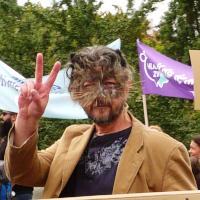 Prahou prošel pochod za práva zvířat