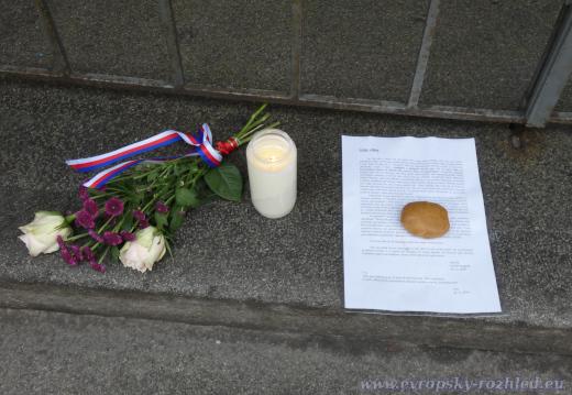 V Resslově ulici se nachází dopis pro Lídu.