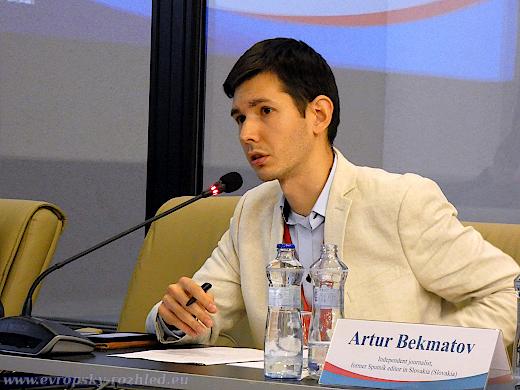 Artur Bekmatov, Mediální forum 2019.