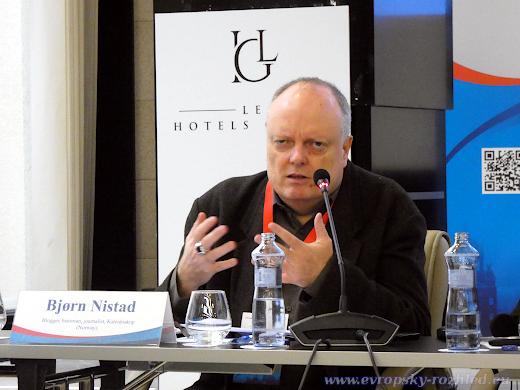 """Nor  Bjørn Nistad z Kaleidoskopu, je představitelem toho, čemu u nás říkáme """"proruský aktivista""""."""