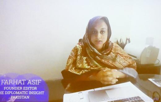 Farhat Asif - digitální a sociální média získala v Pákistánu velký vliv.