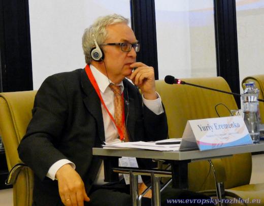 Yuri Eremenko na Mediálním fóru 2019,