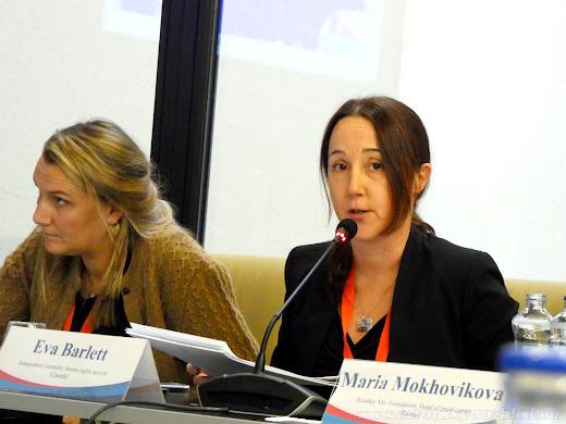 Adeline Hulin (vlevo) a Eva Barlett (vpravo)