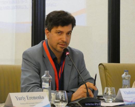 Vladimír Franta během konference Mediální fórum 2019.
