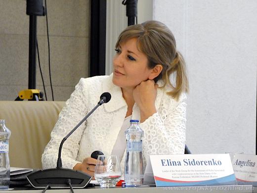 Elina Sidorenko, vedoucí pracovní skupiny pro obchodování ve Státní dumě Ruské federace