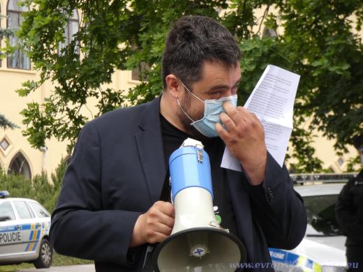 Starosta Řeporyjí Pavel Novotný je jedním ze tří komunálních politiků, kteří se ocitli pod policejní ochranou.