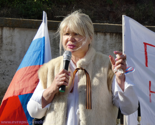 Ruska se nakonec ujala závěrečného slova na demonstraci.