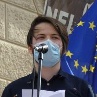 Na Hradčanech se demonstrovalo proti vzdalování naší země od ideálů Listopadu