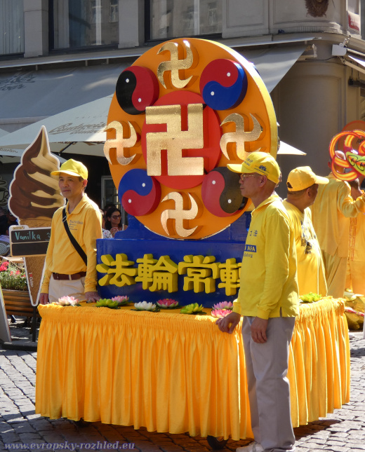 Pochod Falun Dafa
