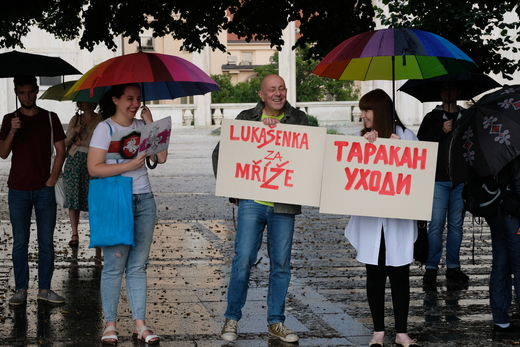 STOP Lukašensko 2020, Praha. Fotografie: Honza Macháček