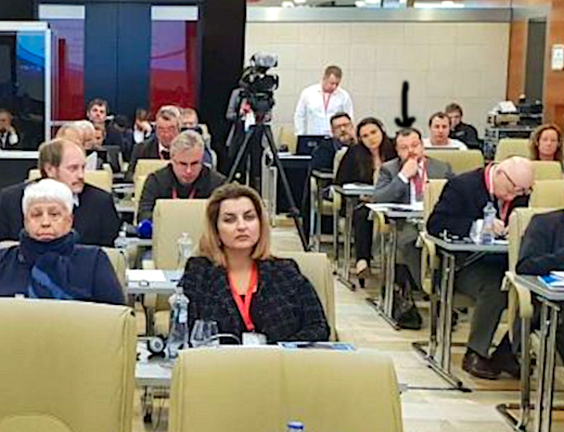 Sergej Čerkalin na Mediálním fóru 2019.