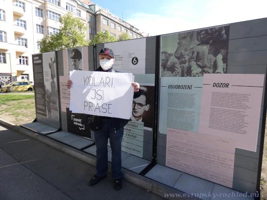 Ohlášeného shromáždění OV KSČM Prahy 6 se zúčastnil jen jediný muž, a to ještě z Národní demokracie.