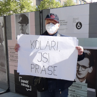 OV KSČM Praha 6 měl pokládat květiny na místě bývalého památníku I. S. Koněva