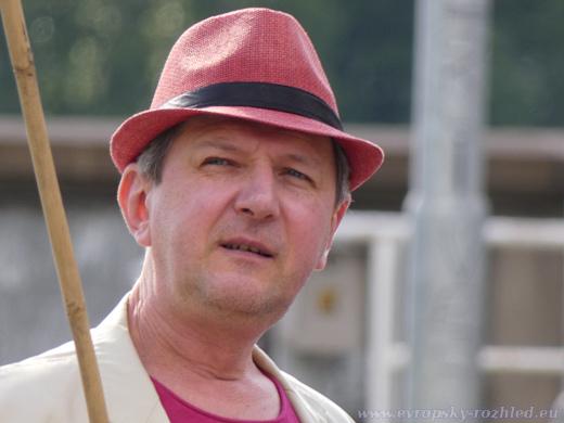 Anton Litvin, zástupce ruské opozice v České republice.
