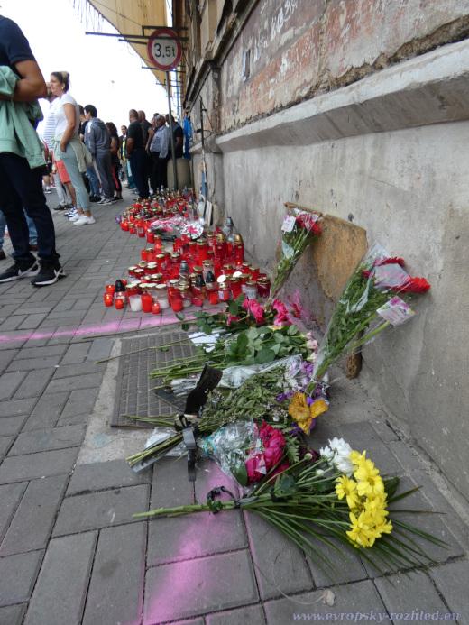 Na tomto místě viděli Romové naposledy Stanislava Tomáše živého.