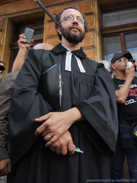 Farář Mikuláš Vymětal měl několik modliteb.