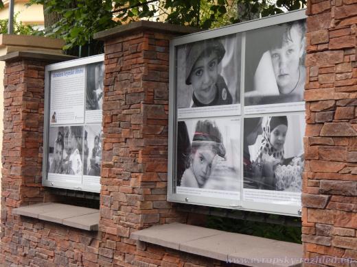 Výstava fotografií novináře a obránce lidských práv Antona Naumljuka.